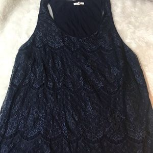 Maurices lace front plus size tank